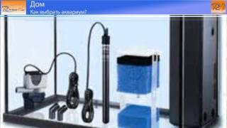 Как выбрать аквариум(Для того,чтобы украсить интерьер, поставьте в комнате аквариум. Как выбрать аквариум, какой купить и подобр..., 2011-02-02T23:31:14.000Z)