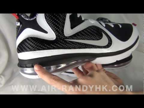 Nike LeBron 9 X Freegums Black & White LBJ9