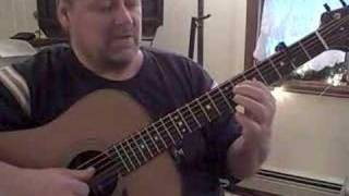 four 1 finger chords using a cut capo in esus position