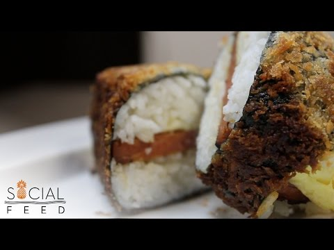 Fried Teriyaki Musubi