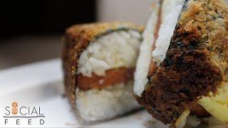 Fried Teriyaki Musubi
