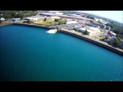 The Reservoir in Trenton NJ shot w/Hubsan 501s