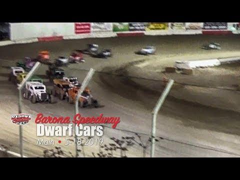Barona Speedway Dwarf Car Main 5-18-2019