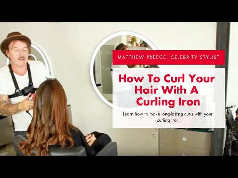 """Loose Curls with FHI Brands Platform Curling Iron 1"""""""