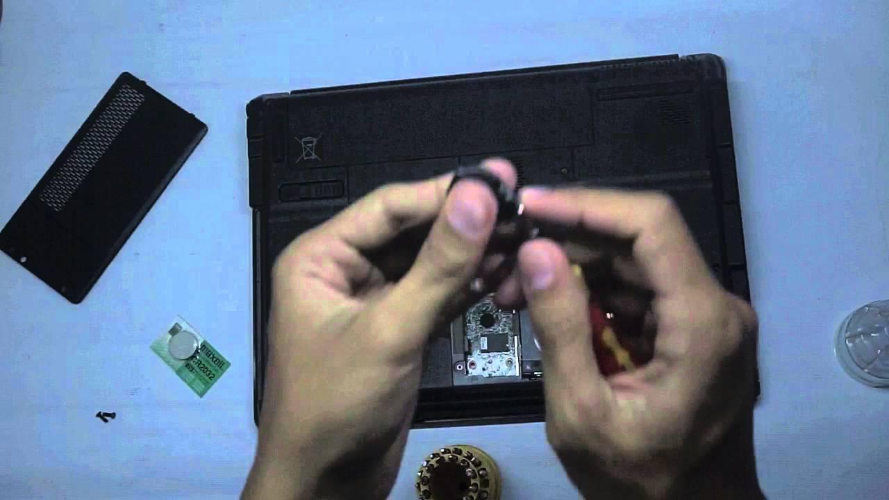 Cara Sederhana Mengganti Baterai Cmos Laptop Youtube