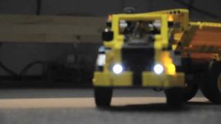 Lego Technic 8264 Dump Truck Motorized - Lights - Remote controlled
