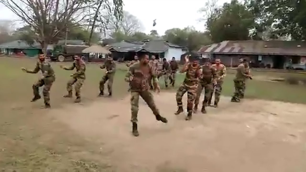 Viral video: Soldiers perform Garba to Gujarati song