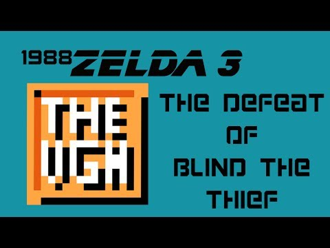 1992: The Legend of Zelda: A Link to the Past: The Defeat of Blind the Thief