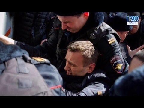 Russia, arrestato il leader dell'opposizione Alexey Navalny. Dura condanna di Usa e Ue