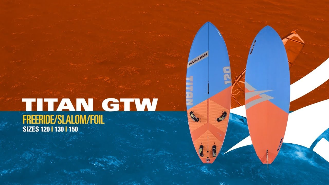 2019 Naish Titan | Freeride/Slalom/Foil Board