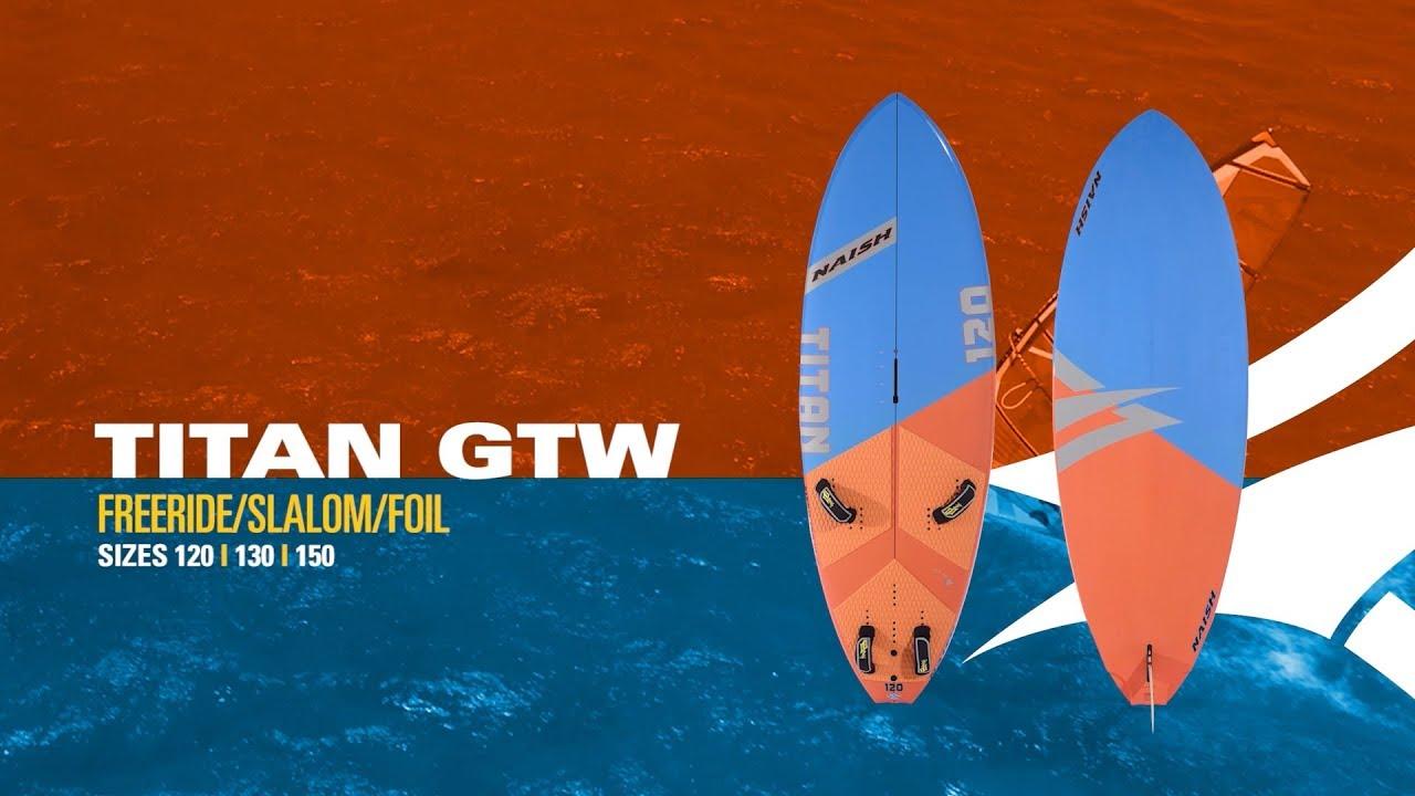 2019 Naish Titan | Freeride/Slalom/Foil Board