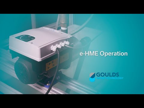 e-HME Smart Pump Operation