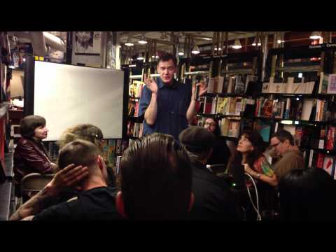 Peter Sotos Reading @ St. Marks Bookshop, NYC