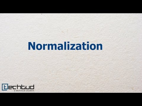 Normalization | Database Management System