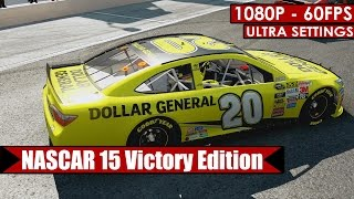 NASCAR 15 Victory Edition gameplay PC HD [1080p/60fps]