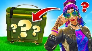 The *RANDOM* AMMO Box Challenge In Fortnite