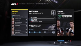 Ea sports UFC 2 gameplay again