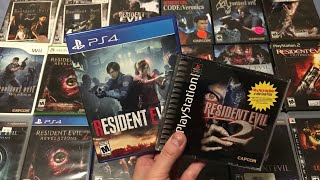 Resident Evil 2 (2019) Unboxing & Collection