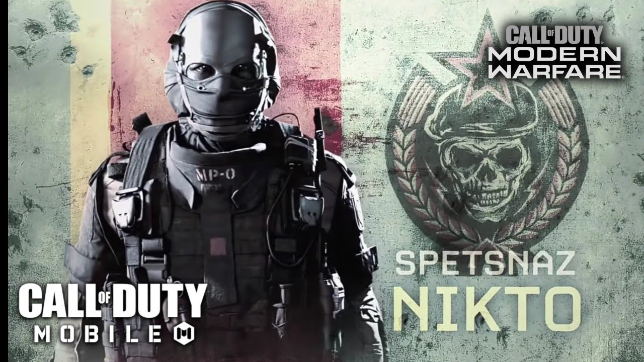 Proximamente Nikto De Modern Warfare En Call Of Duty Mobile Youtube