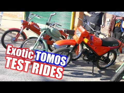 Exotic TOMOS Test Rides