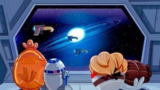 Angry Birds Star Wars Злые Птички прохождение игры Серия 14