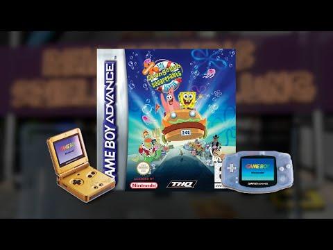 Gameplay : SpongeBob Schwammkopf - Der Film [Gameboy Advance]
