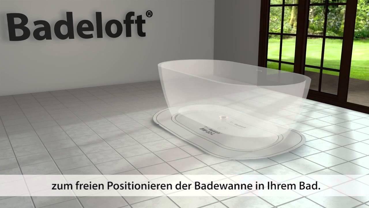 Freistehende Badewanne Installation   Energiemakeovernop