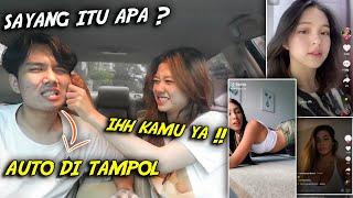Download Lagu AUTO BAKU H*NTAM GARA GARA GENIT DI DEPAN PACAR , REACTION TIKTOK MANTAP ! mp3