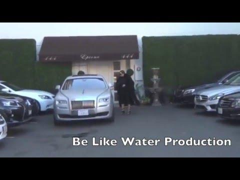 Kim Kardashian Leaves The Salon In Her Custom Rolls Royce Youtube