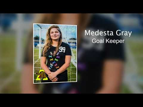 Goal Keeper Medesta Gray - Auburndale Senior High School - Lady Hounds Soccer