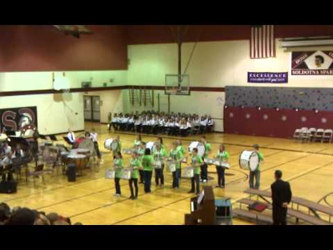 Soldotna middle school drum line