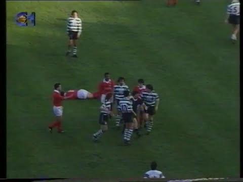 Sporting - 3 x Fátima - 2 de 1992/1993 1/8 Final Taça de Portugal