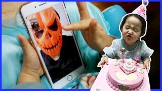 생일축하합니다! 스파이더맨 안나 엘사 콩순이 생일케익 선물개봉기 콩순이 장난감 콩순이야채씻기 베렝구어 아기인형 Toy