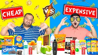 CHEAP VS EXPENSIVE FOOD CHALLENGE | Expensive Food | Cheap Food | Eating Challenge | Viwa Food World
