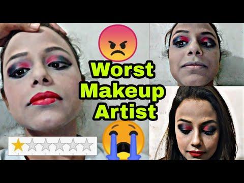 I Went to the Worst Reviewed Makeup Artists in kolkata    Gone Wrong    Neha Beauty Hub thumbnail