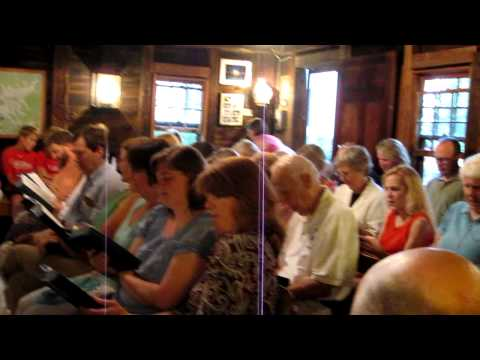 Hymn Sing, Holderness, New Hampshire
