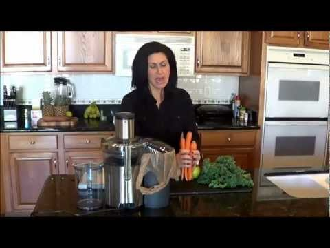 Juicing with Julie - Zesty Kale Juice Recipe