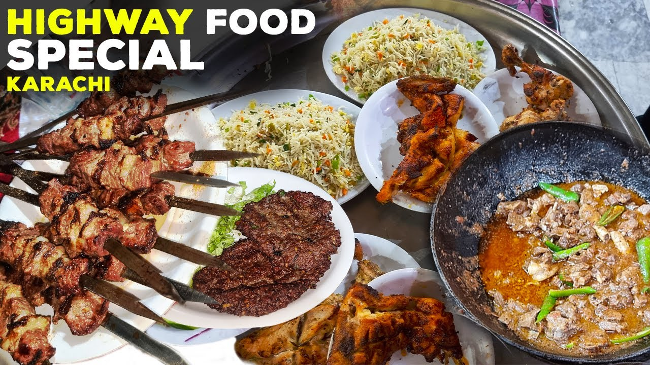 Mutton Karahi Special   Afghani Beef Boti   Mandi   Super Highway Karachi