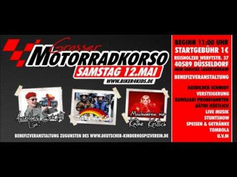 Biker4Kids Korso 2012 Düsseldorf 12.05.2012 (Radio Neandertal)