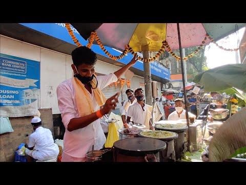 Flying Dosa of India | Rajnikanth Style Dosa in Mumbai | Indian Street Food