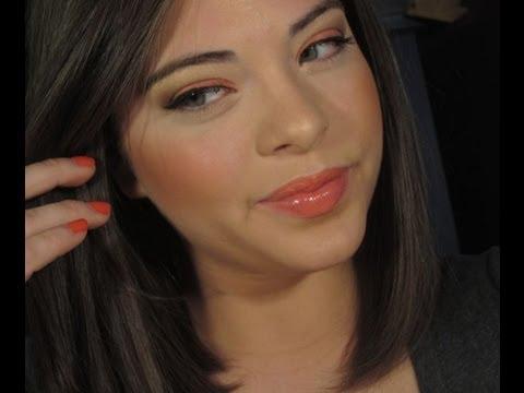 Spring/Summer: Wearable Tangerine Makeup