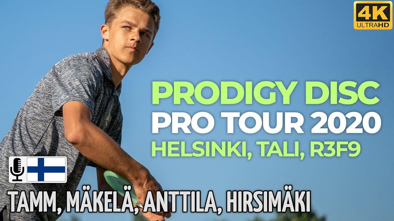 Prodigy Disc Pro Tour 2020, Helsinki Tali R3F9, Albert Tamm, Väinö Mäkelä, Niklas Anttila, Hirsimäki