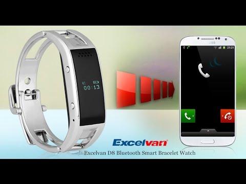 【Excelvan KB3-S】Bluetooth Smart Bracelet Watch for Android Samsung HTC LG