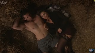 Emmerdale - Andy & Chrissie Sex In The Hay