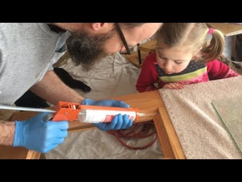 Download Youtube: TIMBER FRAME BUILD — installing glass in the handmade doors