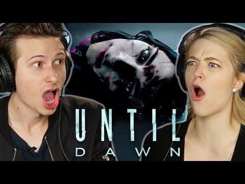 Scared People Try To Survive 'Until Dawn'