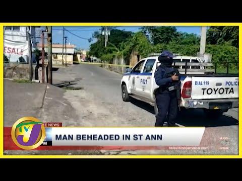 Mentally ill Man Behead Man in St. Ann | TVJ News - Oct 8 2021