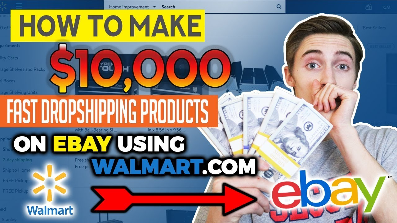 How To Make Money On Ebay Without Selling Anything Dropshipping From Walmart The Settlement Room