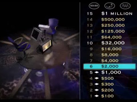 Who Wants to Be a Millionaire 3rd Edition (PS1) Playthrough  - NintendoComplete