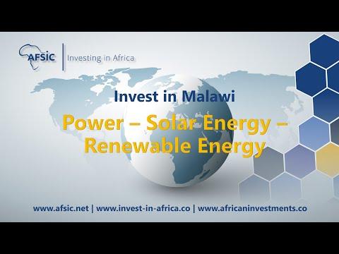 Malawi Power - Solar Energy Malawi – Renewable Energy Companies in Malawi